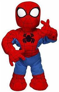 "From I-Mockery: ""There are some things that Spider-Man was NEVER meant to do... singing and dancing would have to be near the top of that list. Yet here he is doing just that with the Itsy Bitsy Spider-Man interactive plush doll. Having him actually dance to the Itsy Bitsy Spider song has got to be the most embarrassing thing to ever happen to him. And that's saying a lot consider we're talking about Peter Parker here."""