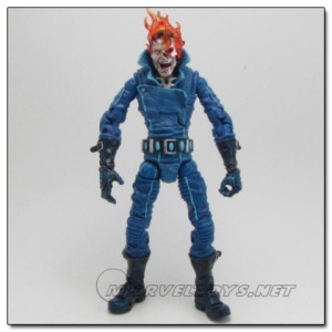 """From Cracked: """"And then, there are the figures that someone only buys for a child if they want to give them emotional baggage. For example, check out this figure of Ghost Rider in the midst of his transformation (alternatively packaged as """"person burning alive"""")."""""""