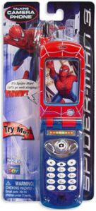 "Well, the phone is fake. But according to Amazon, ""Little superheroes will love carrying around this pretend-play phone so they're at the beck and call of the next emergency in Gotham."" Wait a second, Gotham? Seriously, Amazon, that's Batman's territory. Spider Man usually stays out of that place since it's in the DCU."
