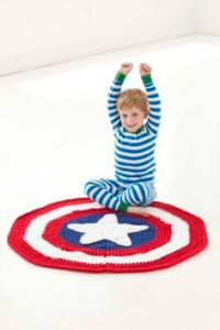 Also doubles as a small rug. Either way, this kid seems to enjoy it.