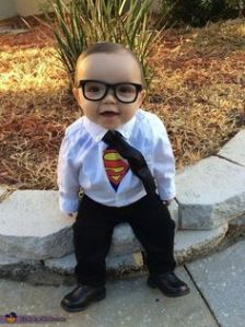 I'm sure having a Kryptonian baby around would be a parental nightmare. Still, this is adorable.