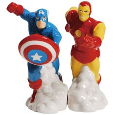 Note that in the next Captain America movie, you'd want to keep these guys as far away from each other as possible. Seriously, bring up Bucky and they will not get on.
