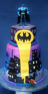 And I guess Robin can see it. However, I'm not sure if Batman can. Still, this cake is great.