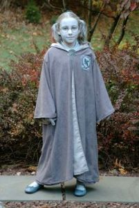 Yes, I know that this Moaning Myrtle is blue. But she's a ghost as you know.