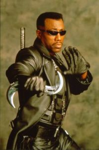 He had is on film series and was portrayed by Wesley Snipes. Yet, he's a more obscure character than a lot of folks in this post.