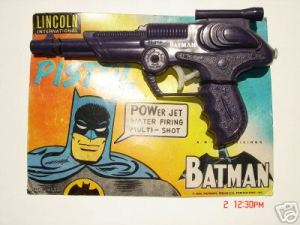 For love of God, why the hell are there so many Batman guns? For God's sake, Batman's known for hating them. Why don't these manufacturers get a clue?
