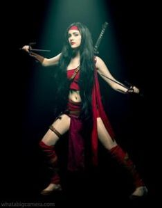 Elektra is a Greek assassin as well as a love interest of Daredevil. However, her violent nature and mercenary lifestyle divide the two, for good reason.