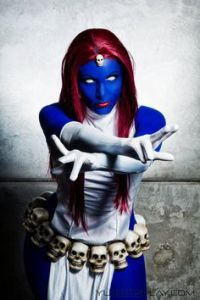 Mystique is a shapeshifter who can take a form of any person and mimic their voice with excellent precision. She also can appear fully naked in a PG-13 movie (though you don't see some bits).