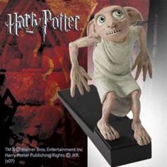 Okay, Dobby may not be the scariest characters from Harry Potter. But this doorstop is so freaky looking for some reason.