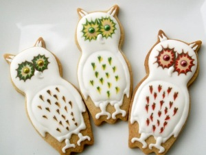 These seem to have 3 variations of icing. But I think they're adorable.