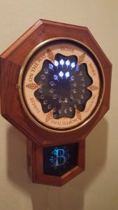 Sometimes I don't know why wizards don't embrace higher forms of technology. A clock like this would make the Weasleys' lives so much easier even with magic.
