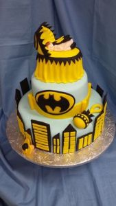 Not sure what to think about a Batman themed baby shower. Then again, I suppose there could be more inappropriate themes like the Hunger Games.