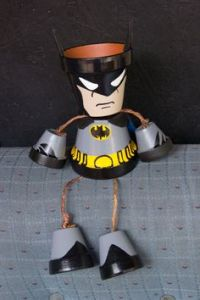 Yes, Batman seems to be on pot patrol. Not sure if you could put a flower in this. But it's pretty clever.