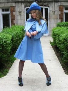 Well, this is an older Fleur Delacour costume. Still, it's pretty close to the movies.