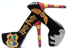 Yes, I had Harry Potter high heels in my last post. But these are more decorated as you see.