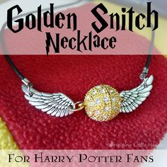 Or so it seems like it since it looks as if the clasps are in the center. Still, not sure why they'd have a Golden Snitch in Quidditch in the first place other than it being a quick way to end a match.