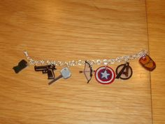 Wonder why all the Avengers don't have charm bracelets like these. Might've prevented Civil War (though when I hear it, I think of an entirely different conflict).