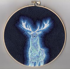 Harry's is a stag like his dad's would be since it was his animagus form. Love the craftsmanship here.
