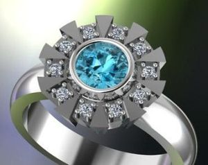 Sure it may not be like proposing to your girlfriend with a Batman engagement ring. However, in case you're Tony Stark and head Stark Industries, you shouldn't even go for it. Seriously, you might fantasize about doing this. But you should probably go with a real ring instead even if it's more expensive.