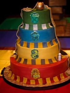 As you see, Gryffindor is at the bottom while Slytherin is on top. Not sure to know what that means.