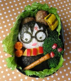 I'm sure you'd have to microwave this before eating at lunch. But this is so cute.