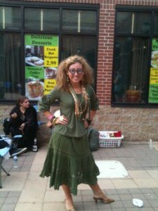 Now this one seems more like her outfit from the movie. Nevertheless, Trelawney can be pretty weird at times.