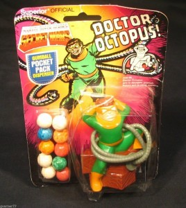 I don't know about you. But Doctor Oc seems rather tangled up in his mechanical appendages at the moment. Not sure what to make of that.