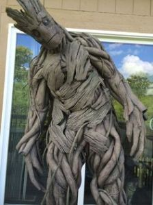 "Groot is a plant creature from Guardians of the Galaxy. ""I am Groot,"" is practically all he says. But he is good at following directions, even when he's not supposed to."