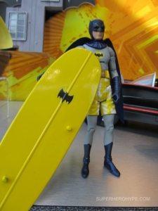This is from the 1960s show. And yes, Batman is wearing trunks over his batsuit. I know it looks so stupid.
