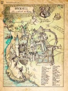 Sure it's not the Marauder's Map. But it's a fine illustration just the same.
