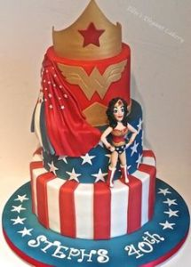 I'm sure she's not very edible. However, the rest of the cake probably is. Well, if you don't count the tiara.