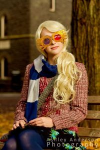 As you know, Luna Lovegood is from Ravenclaw and her dad seems like the closest thing to a wizard hippie. Love the glasses though.