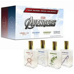 I don't know about guys reading this. But do you really want to smell like an Avenger? I mean you might like the Hulk. But that doesn't mean you want to smell like him.