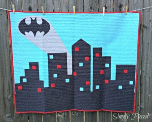 This one has the bat signal over Gotham city. And yes, it looks really awesome.
