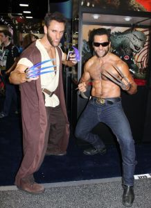 They also have shirtless Wolverine with him. Jedi Wolverine is dressed in robes and has lightsaber claws. Looks awesome.