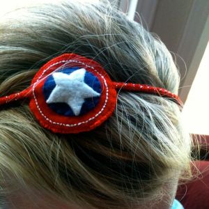 I think some mom was wearing this for a superhero party. Still, it's pretty.