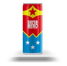To set the record straight, energy drinks are bad for you since they're loaded with caffeine. Why these ones have superheroes is just very unsettling.