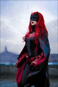 Yes, she's the red haired caped crusader of Gotham City. She came before Batgirl who eventually replaced and surpassed her in popularity.