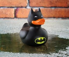 Sure kids love Batman. But this mean that a Batman rubber duck is appropriate? That's a good question.