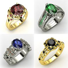 Now I've heard of class rings. But Hogwarts house rings. Isn't it a bit much? I mean why?