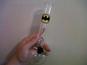 Just you know, this is considered drug paraphernalia that's illegal in most states. But if you live where it's legal for recreational use, then you should be able to achieve a Dark Knight high.