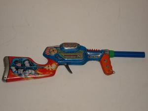I'm positive this is a kid's toy. However, we should note the fact that Batman doesn't like guns.