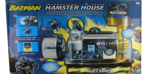 "From What Culture: ""Yes, you did actually read that right: The Batman Interactive Hamster House. Your pet rodent can finally live out its fantasy of having a Batman themed home – all you need now is a pet mouse take on the role of Alfred."" Seriously, I don't think any hamster would be interested in this. But it's so funny."