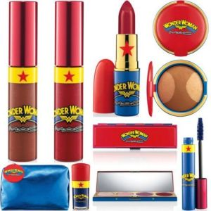 Okay, since Wonder Woman is an iconic woman, then she has to get her own makeup line. Pardon me, but I think such a concept is sexist and stupid.