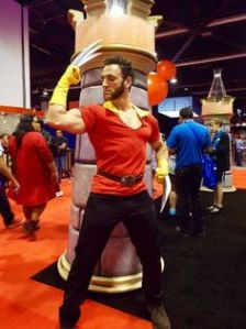 Well, Gaston Wolverine, anyway. Also, he uses antlers in all of his decorating. Oh, what a guy, Wolverine.