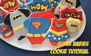 These consist of Superman, Batman, and Wonder Woman. And yes, they're quite adorable.