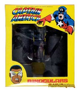 Despite having Falcon as a sidekick, Captain America doesn't seem very comfortable with black people. That is, according to the packaging of this product.