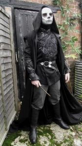 Yes, Death Eaters might have cool costumes. But they're also pureblood supremacists and murderers. Just so you know.