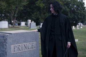 After all, he is the Half-Blood Prince. Prince was his mother's maiden name. Just so you know from Book 6.