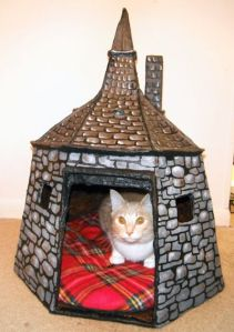 Okay, this was probably made by someone with too much time on their hands. Also, I think your pet needs a place like this. Just saying.